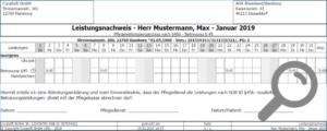 Alternativer Leistungsnachweisdruck: Leistungsnachweis nach §45b